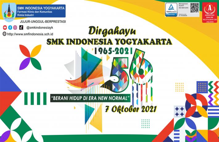 HUT SMK INDONESIA YOGYAKARTA KE-56 DAN KOTA YOGYAKARTA KE-265
